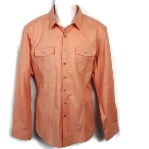 Marc Anthony Slim Fit Buttoned Down Shirt. Size XL